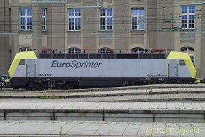 Dispolok Eurosprinter, München