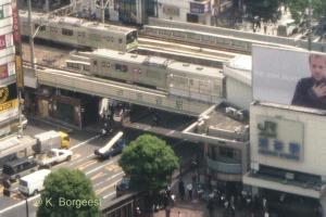 山手線, 渋谷区